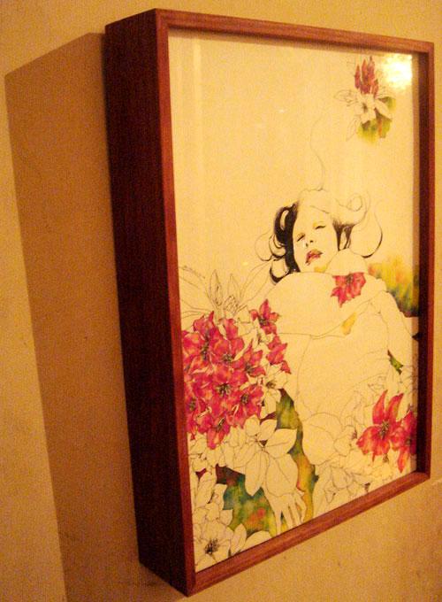宮島亜希個展「開放花」