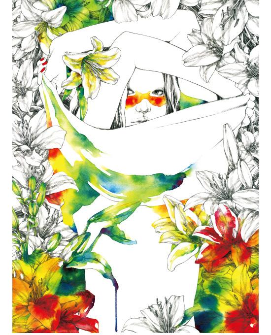 Aki Miyajima colorless