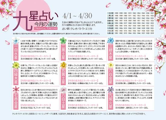FANCL 会報誌 『ESPOIR』 占いページイラスト