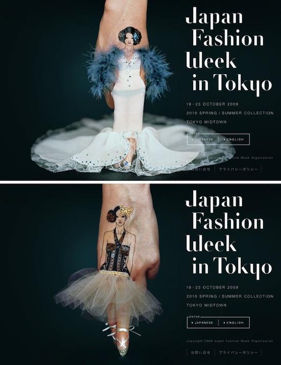Japan Fashion Week in Tokyo 2009