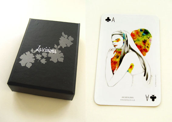 Lascivious playing card project